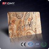 Carte faite sur commande de puce RFID de carte de visite professionnelle de visite de l'impression NFC