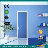 青いカラー(WDHO80)のカスタマイズされたデザインホテルのドア