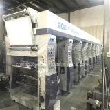 8 machine d'impression de rotogravure de moteur de la couleur 130m/Min trois