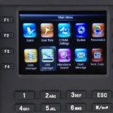 Dados de transferência do dispositivo do comparecimento do tempo da impressão digital por GPRS (TFT500/GPRS)