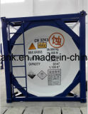 contenitore del serbatoio del acciaio al carbonio di 38000L 30FT per i prodotti chimici gas, combustibile Appvoed dalla LR, ASME
