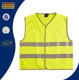Vest van de Veiligheid van de Band Vis van de Polyester van 100% hallo het Weerspiegelende