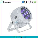 Ce Outdoor 7 * 14W RGBAW + UV batterie DMX Powered Wireless LED PAR Can