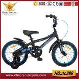 Kinder mit Pedal-Fahrrad-/Baby-Training dreht Fahrrad-/Kind-Spielzeug-Fahrrad