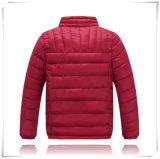 Do Windbreaker Heated europeu por atacado do projeto do OEM da fábrica da roupa de 2016 Mens do estilo para baixo do time do colégio do revestimento revestimento impermeável para baixo para a menina 607 das crianças dos homens