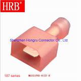 Terminale diritto maschio di nylon Pieno-Isolato equivalente di ampère Faston