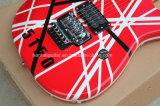 Hanhai Music / Kramer Style Guitare électrique rouge avec Floyd Rose