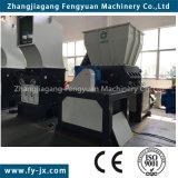 Máquina doble plástica de reciclaje automática de la desfibradora del eje