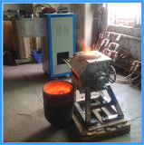 Rotary de frecuencia media 25kg Iron Scrap Melting Furnace (JLZ-45)