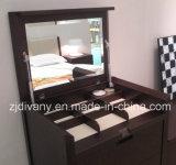 Gabinete de madera del aparador del espejo del estilo moderno americano (SM-D34)