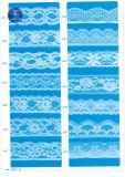 De elastische Stof van het Kant voor Kleding/Kledingstuk/Schoenen/Zak/Geval M013 (breedte: 8cm)