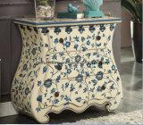 Amerikanischer antiker handgemalter Dekoration-Möbel-Fach-Schrank