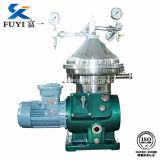 Máquina de alta velocidad del separador poner crema de la leche de Fuyi del alto rendimiento