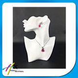 Resina de calidad superior hecha collar del busto de la visualización de la joyería reventar la visualización