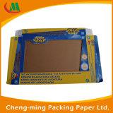 Cadres de papier de empaquetage de produit de beauté à niveau élevé fait sur commande bon marché
