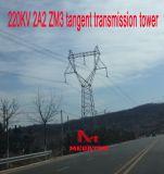 Torretta della trasmissione di tangente di Megatro 220kv 2A2 Zm3