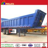 Descarregador resistente do reboque do caminhão de mineração para o transporte do Dinas da areia