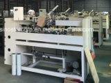 Máquina de costura de la caja semiautomática del cartón