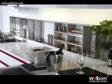 Welbom Australien modernes Landhaus-Projekt-hohe Glanz-Lack-Küche-Schrank-Möbel