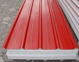 Feuille ondulée de toiture de tôle d'acier pour le matériau de construction