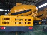 4 M3 300 Caminhão de betão auto-suficiente com incrustações eletrônicas