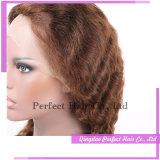 최고 아름다움 형식 브라질 자연적인 색깔 레이스 가발