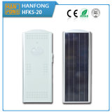 Ce homologué IP65 20W LED Solar Street Light (HFk5-20)
