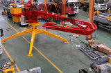 4車輪13m 15m 17mのトレーラーのTowable移動式具体的な置くブーム