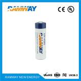 bateria de lítio de 3.6V 27ah para os alarmes e a segurança (ER14505)