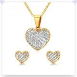 De Reeks van de Juwelen van het Roestvrij staal van de Juwelen van het Kristal van de Juwelen van de manier (JS0264)