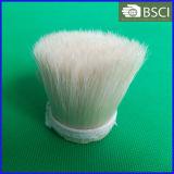 自然で白い沸かされた剛毛(黒く、白い、灰色)