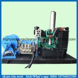 pompa di getto di acqua ad alta pressione industriale del pulitore di tubo del motore diesel 100MPa