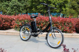 Bike E-Bike 20 дюймов миниый складывая электрический с безщеточной чернотой Assist мотора