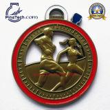 Freie Gestaltungsarbeit und kein MOQ für kundenspezifische Fußball-Sport-Medaillen, Paypal annehmbar