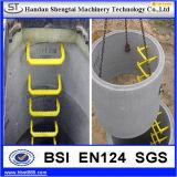 Pasos de progresión maleables de la boca del hierro gris de la fábrica de China para el concreto