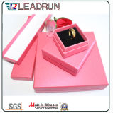 Коробка кожи коробки хранения коробки упаковки коробки подарка ювелирных изделий бархата (Cac26)