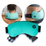 Электрическая управляемая батарея вибрирующ назад пояс Massager тела обруча шеи