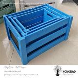 Rectángulo de empaquetado de madera grande de Hongdao con Lid_D de desplazamiento