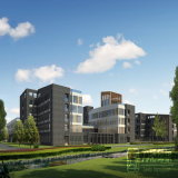 Animation-Industriepark 3D Rendering