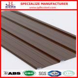 Colorear el precio acanalado revestido de la hoja del material para techos del metal