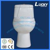 Toilette en céramique duelle de l'éclat 3L/6L de grande promotion, qualité de catégorie A avec du ce et certificat de Saso