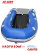 2.5m PVC inflável Barco de borracha Sport Boat Hy-E250 Barco de pesca para venda