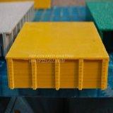 FRP скрежеща с покрынной верхней частью для дренажа