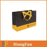 高品質のシルクスクリーンによって印刷されるロゴのペーパーショッピング・バッグ