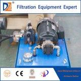 Prensa de filtro automática para el tratamiento del lodo de las aguas residuales