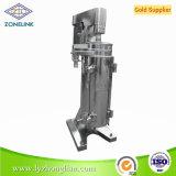 Máquina tubular de alta velocidade do centrifugador de separador do óleo da eficiência elevada de Gf105-J