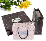 Бумажный мешок упаковки бумажной несущей печати мешка подарка покупкы (a70)
