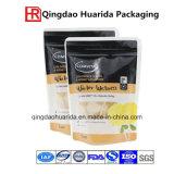 L'imballaggio per alimenti di plastica si leva in piedi in su il sacchetto del sacchetto con la chiusura lampo per la frutta fresca