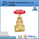 Bola forjada Balve, instalaciones de tuberías de la agua caliente válvula de cobre amarillo de 3/4 pulgada para la industria