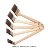 Cepillo de pintura del radiador con la maneta de madera B008